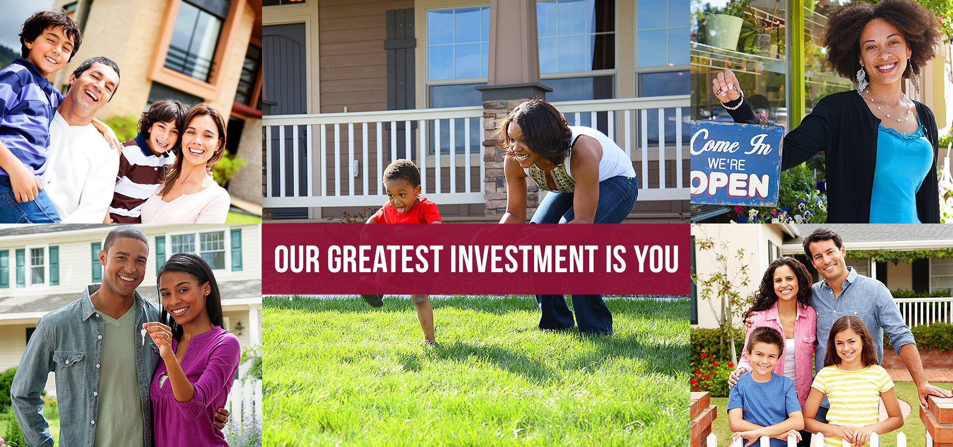 Our Greatest Investment Is You